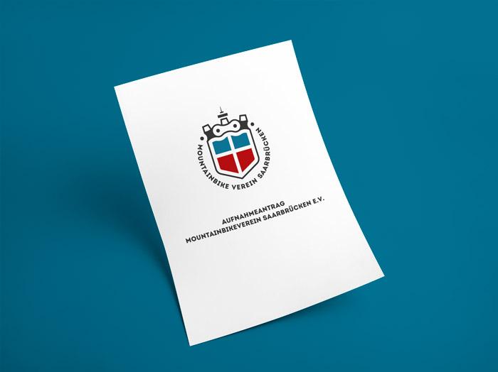 Abbildung des Aufnahmeantragsformulars für eine Mitgliedschaft beim MVS